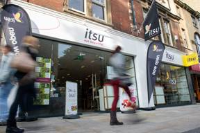 The new itsu store in Oxford